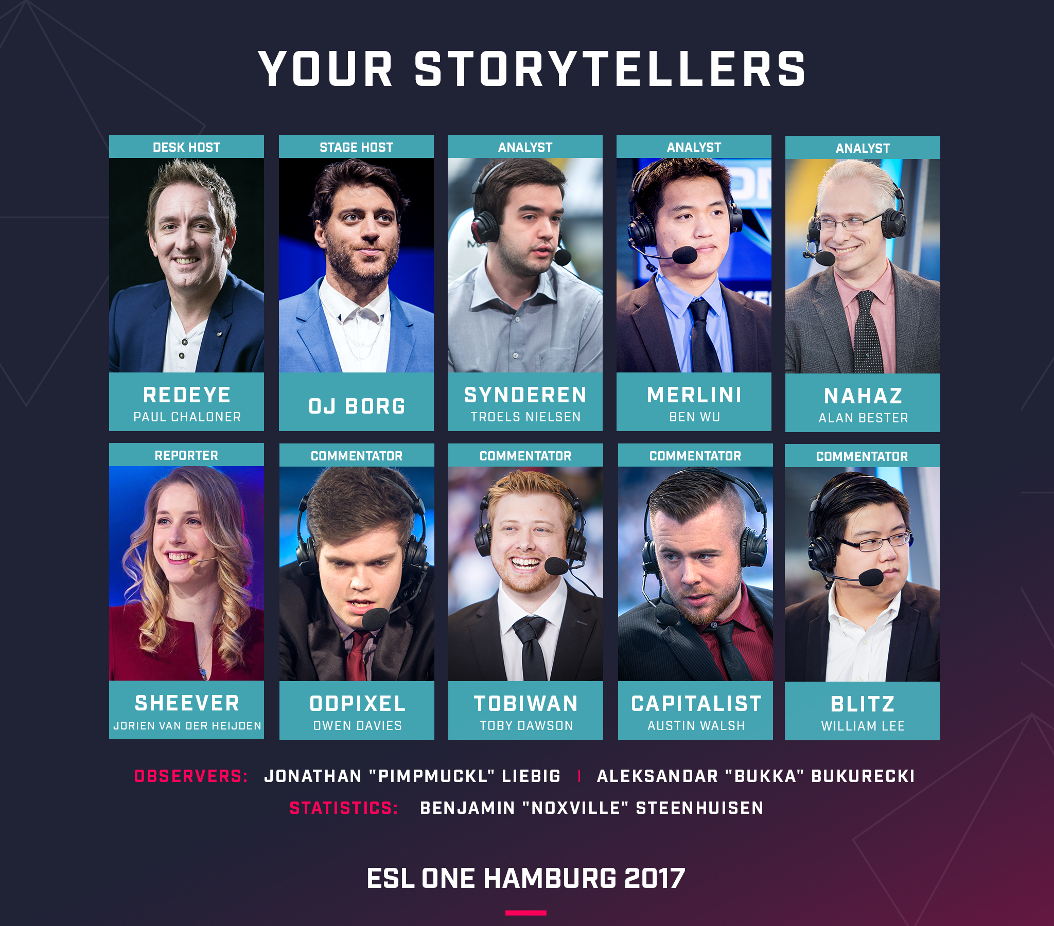ESL One Hamburg SheeverGaming Sheever Talent